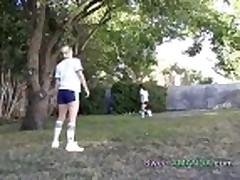 Soccer Teens Sweet Amanda