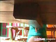 Zuzinka how to shock a waitress xLx