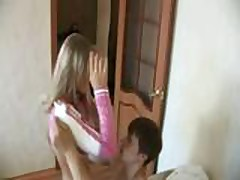 Russian Teens Enjoying