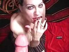Smoking Fetish - Grace Topless POV