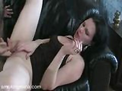 Smoking Fetish - Mina is smoking while is being licked
