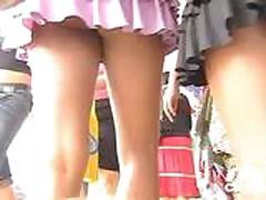 Double Upskirt