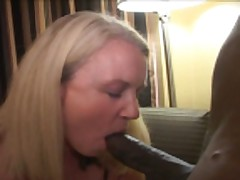blonde wife enjoys two black gentleman