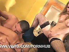 Monique Alexander and Sunny Lane Take Turns On This Cock