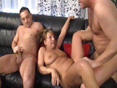 german granny and 2 guys