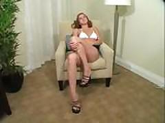 Becky JO Instruction in Miniskirt