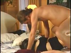 Crazy threesome sex