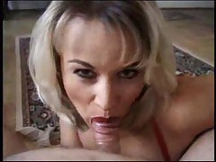 Incredible BJ from the blonde hottie