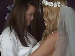 Sex after the lesbian wedding is hot stuff