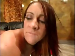 Sexy girl with big tits and ass gets boner