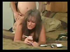 Girl with cucumber fucking her hot box
