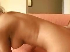 Deepthroat fucking a big tits tattooed slut