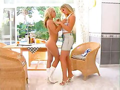 Hot blonde german lesbians