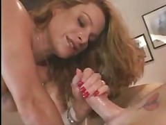 MOSTLY redheads stroking cocks