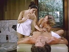 Massage table threesome