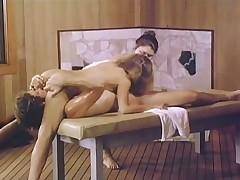 Massage table threesome