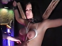 First Time Tit Hanging