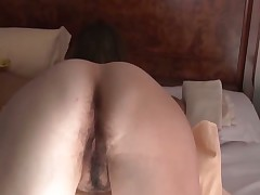 Hairy cunt gf in doggystyle