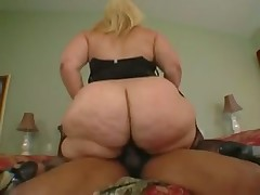 Fat white girl and her ebony lover