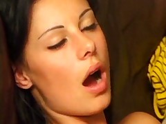 Behind the scenes of Euro anal threesome