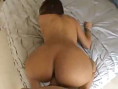 Ebony minx with gorgeous ass boned raw