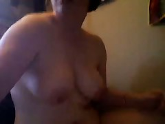 Young fatty on webcam