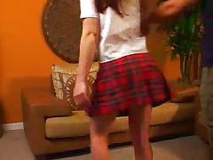 Schoolgirl assboned