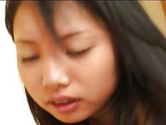 Japanese teen creampied in hotel room