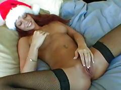 Brandi May Christmas surprise 1