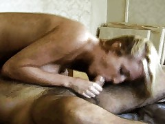 Blonde sucking and getting licked