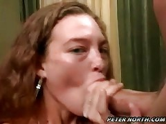 Wild girl gets it in her face