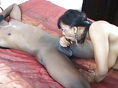 Big titted girl fucked by big rastafari dick
