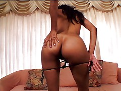 Black bitch gets her ass stuffed