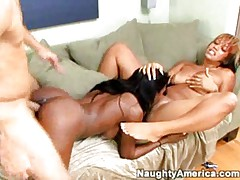 Monica and Mia in naughty threesome