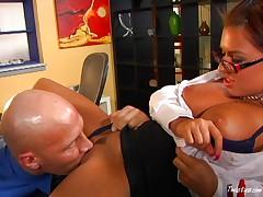Eva Angelina the hot secretary 2