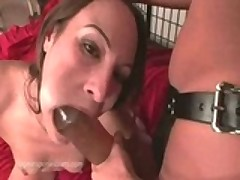 Kelly Wells Rips Huge Strap-on In To Her Friend