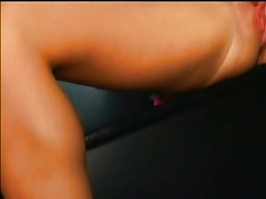Blonde gets fucked and swallows