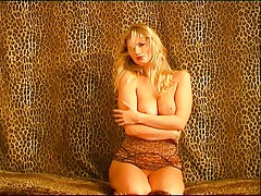 Jaguar lady seducing