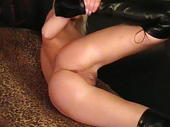 Young slut in hot action
