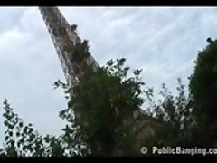 Banging By The Eiffel Tower