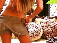 Hot Amy Reid seducing 1