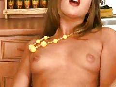 Olivia soaping and masturbates