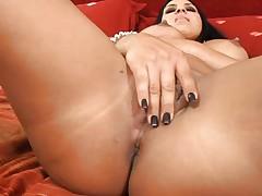 Mariah Milano's nice big tits