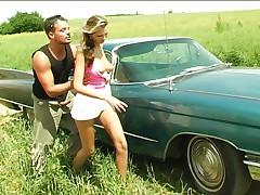 Sex on the hood of big american car