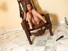 Erica Campbell strips 3