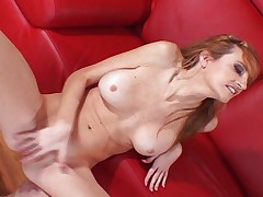 Heather gets fucked and squirts