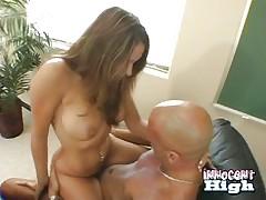 Kinzie wants her teacher's cock 2