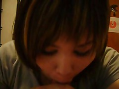 Cute shy chubby emo teen suck with love