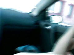 Blonde likes to fuck in the car