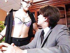 Secretary loves getting fucked